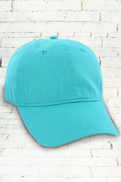 Lagoon Comfort Colors Dyed Canvas Baseball Cap