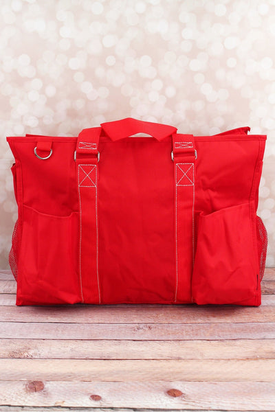 SALE! NGIL Red Large Organizer Tote