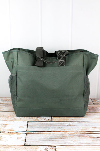 NGIL Moss Gray Everyday Organizer Tote