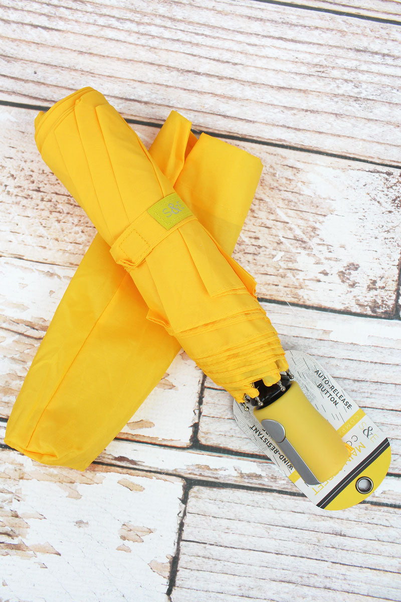 Yellow Umbrella 42""