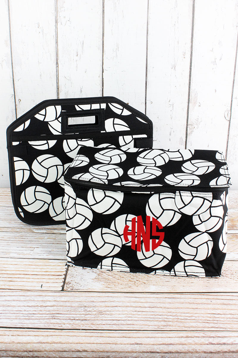NGIL Volleyball Utility Storage Tote with Insulated Bag