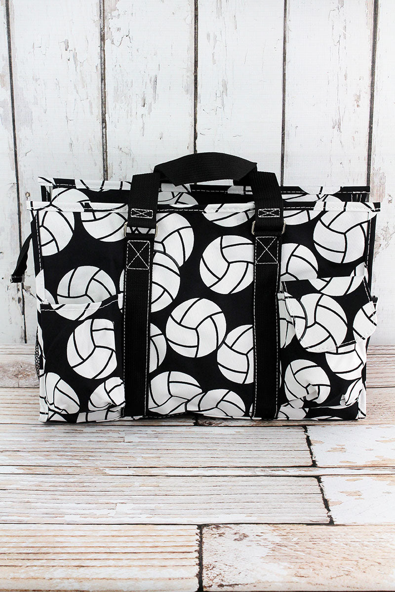 NGIL Volleyball Utility Tote with Black Trim