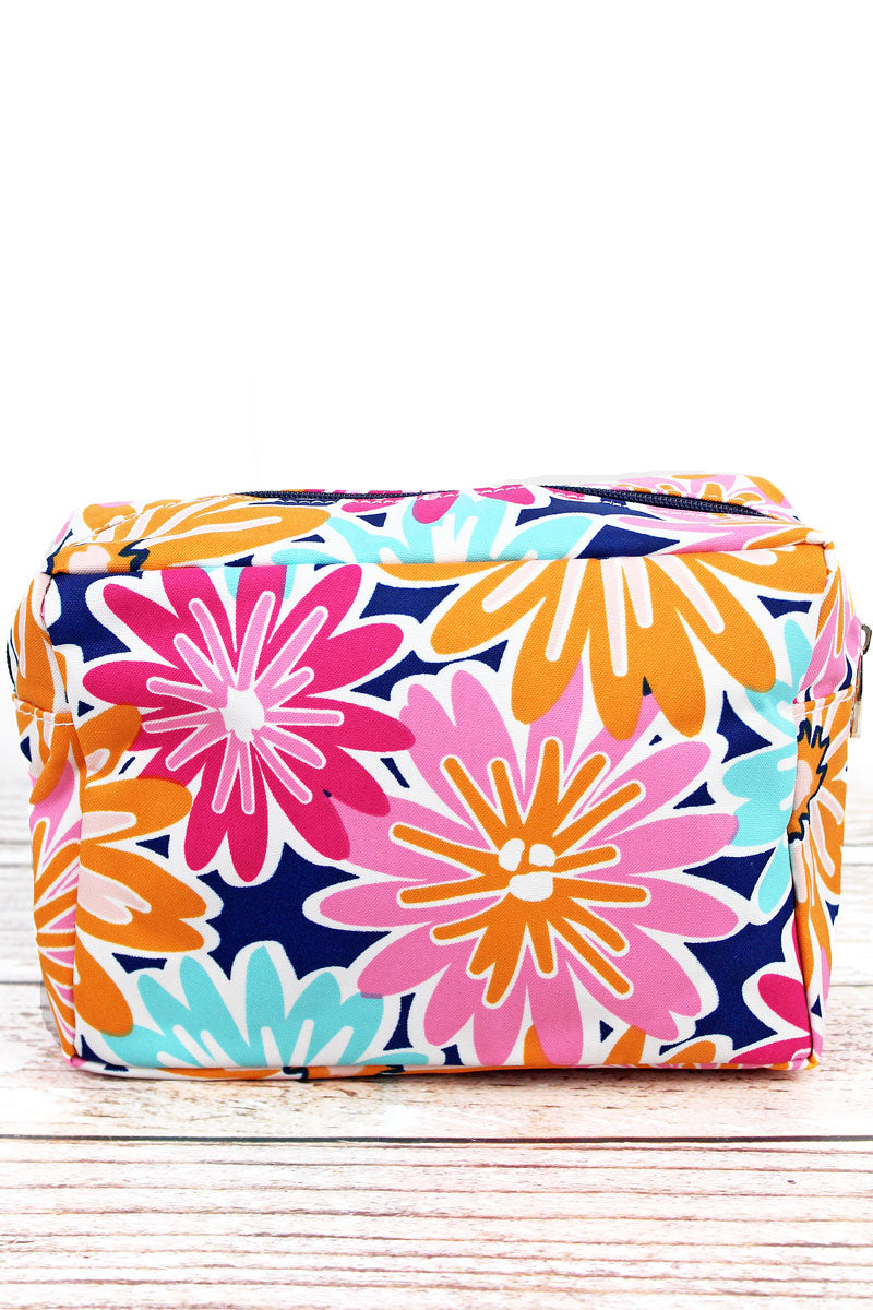 NGIL Vibrant Flowers Cosmetic Case