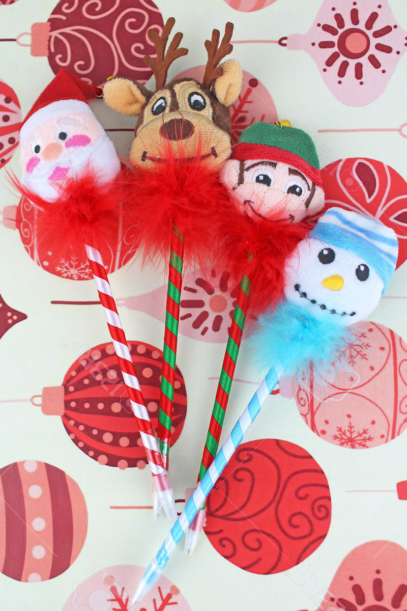 One North Pole Plush Pen - SHIPS ASSORTED