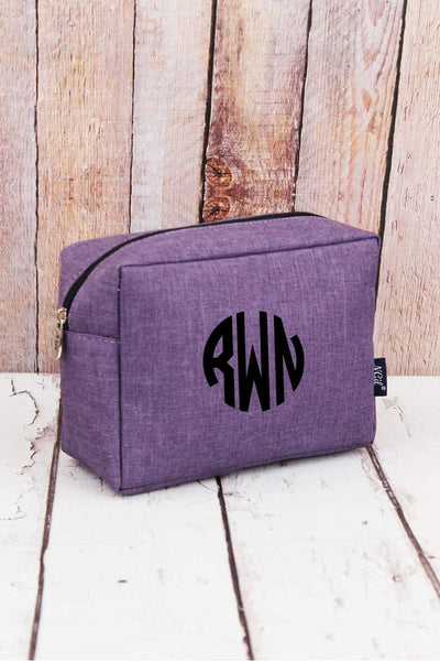 NGIL Amethyst Purple Crosshatch Cosmetic Case