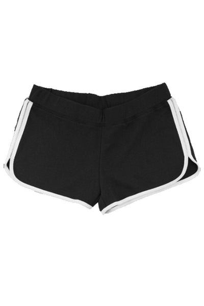 Boxercraft Youth Relay Short, Black and White