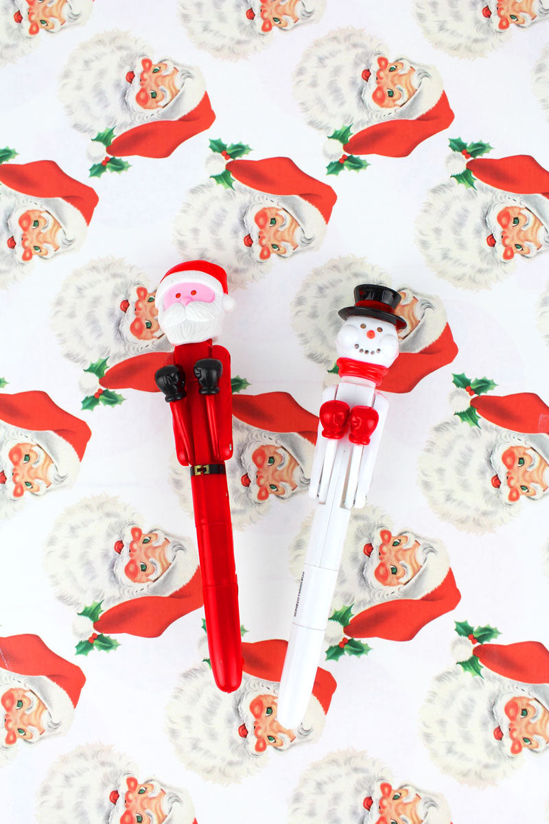 One Christmas Light-Up Punch Pen Pen - SHIPS ASSORTED