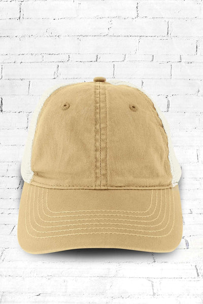 On The Road Again Washed Trucker Cap