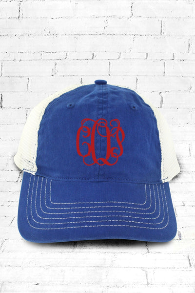 Royal Washed Trucker Cap