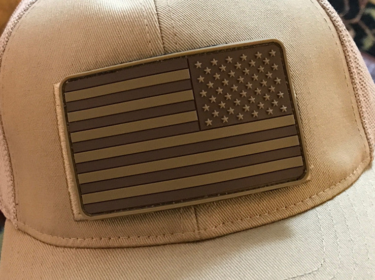 USA Flag PVC Morale Patch - 3 Color Options - Urban Operator 29fe4ddaa0a