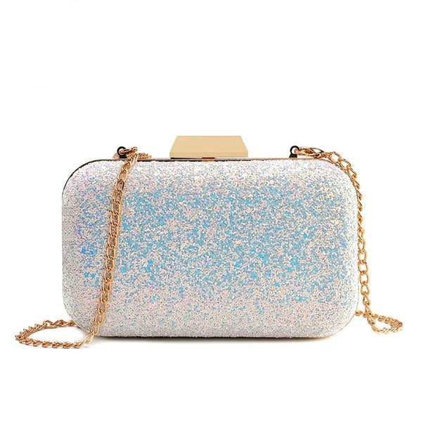 Glitter and Bling Party Clutch Bag