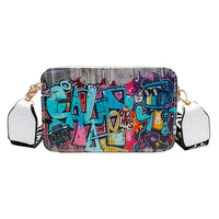 Street Graffiti Shoulder Handbag
