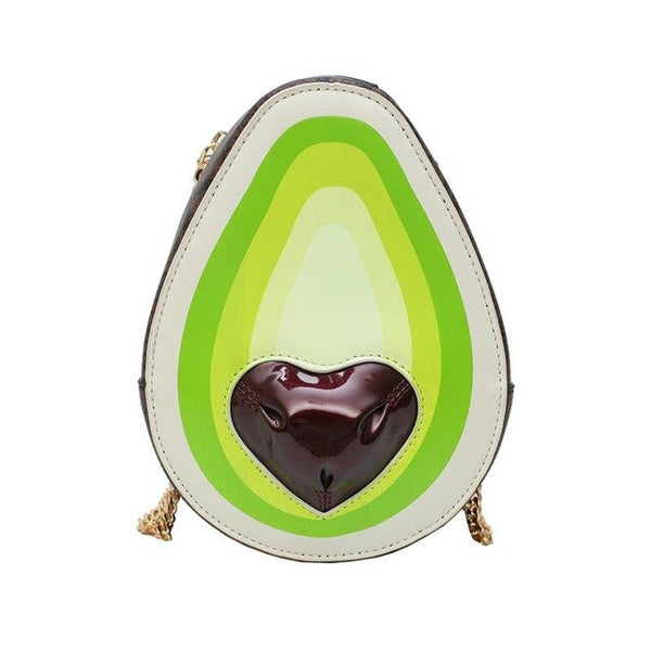 Avocado Heart Shoulder Bag