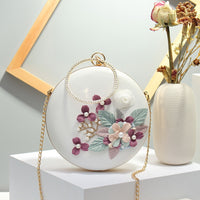 Oriental Flower Evening Clutch