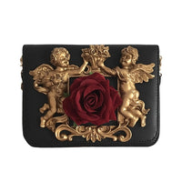 Cherubs and Roses Luxury Messenger Bag