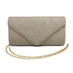 Luxury Shine Envelope Wedding and Evening Clutch