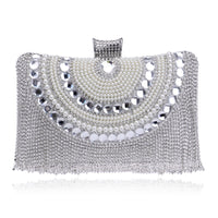 Beads and Diamonds Evening Handbag