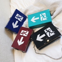 Emergency Exit Crossbody Handbag