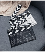 Black & White Movie Prop Clutch Bag