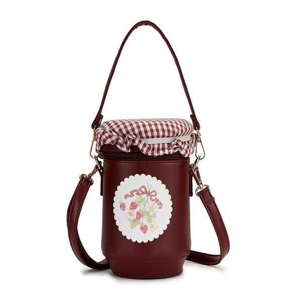 Preserves Jar Bucket Casual Shoulder Bag