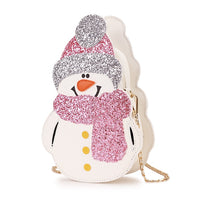 Winter Snowman Casual Shoulder Bag