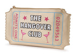 The Hangover Club Ticket Envelope Clutch Bag