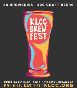 February 9-10- KLCC Brewfest Fundraiser in Eugene