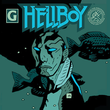 Abe Sapien by Mike Mignola