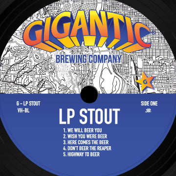 LP Stout by Rob Reger