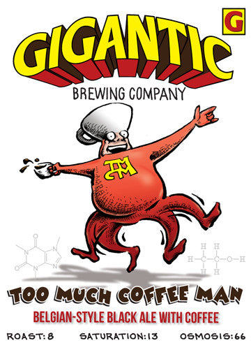 Too Much Coffee Man by Shannon Wheeler