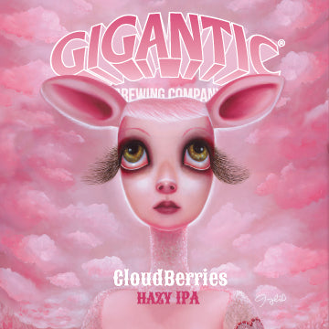 Cloudberries Hazy IPA by Jenny Bird