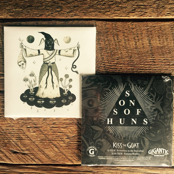"Kiss the Goat 7"" single by Sons of Huns"