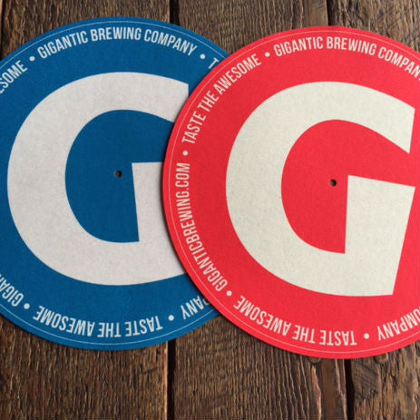 """G"" Turntable Slipmats"