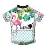 Kona Flamingo Racing Jersey (note: race cut, see description)