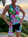 Flamingo Black Triathlon Top