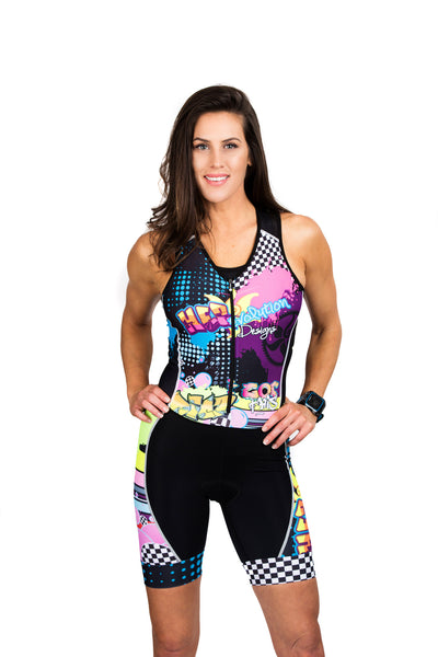 Rock'n & Rev'n One Piece Tri Suit XS & XL, 2XL ONLY