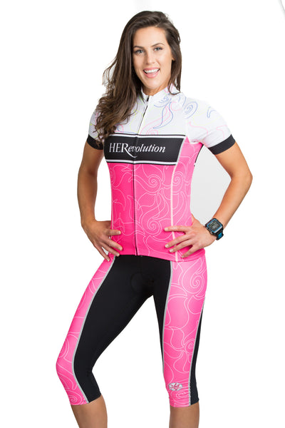 Pink Lotus Cycling Knicker XLARGE ONLY