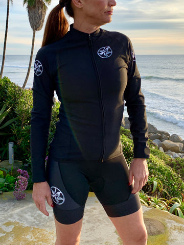 HERsexy Black Long Sleeve Fleece Jersey
