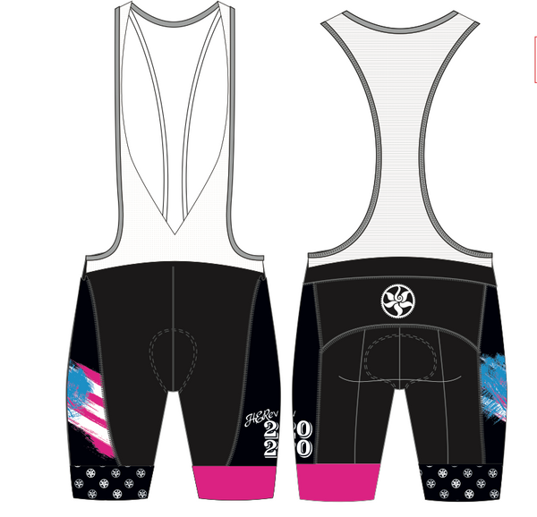 HERevolution Team 2020 Cycling Bibs