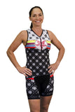 Lotus Lane Triathlon Short XS & SMALL ONLY
