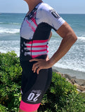United One Piece Sleeved Aero Triathlon Suit