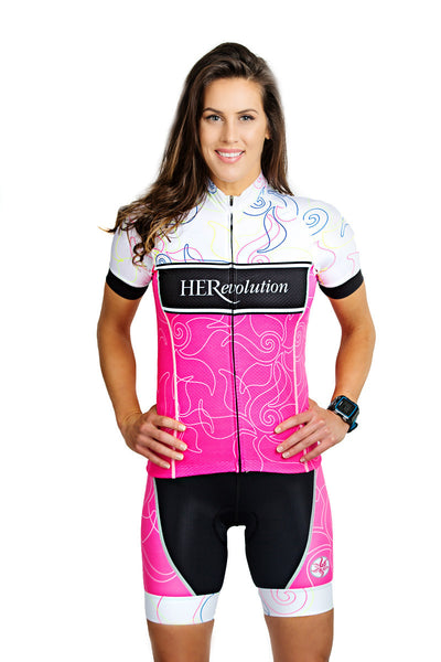 Pink Lotus Cycling Short