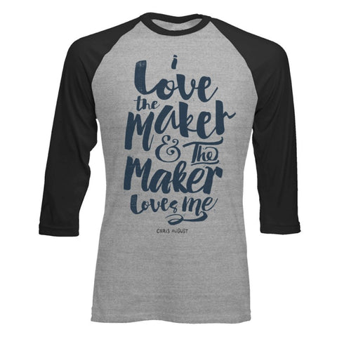 THE MAKER BASEBALL T-SHIRT
