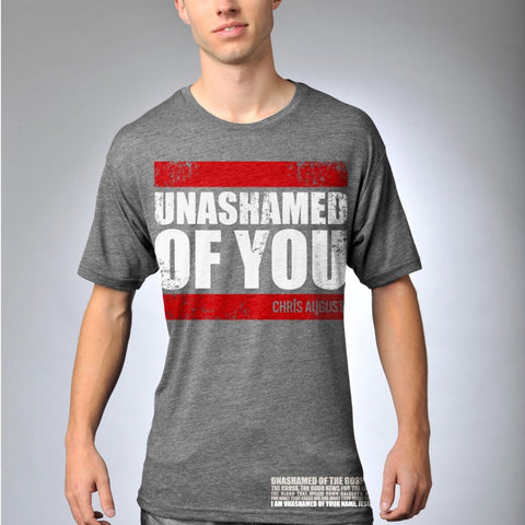 UNASHAMED OF YOU BLOCK T-SHIRT