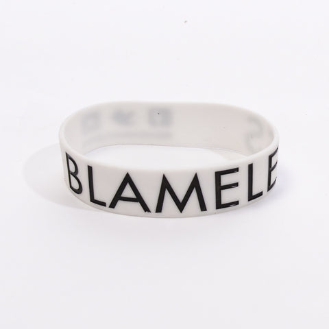 White with Black Ink - Bracelet