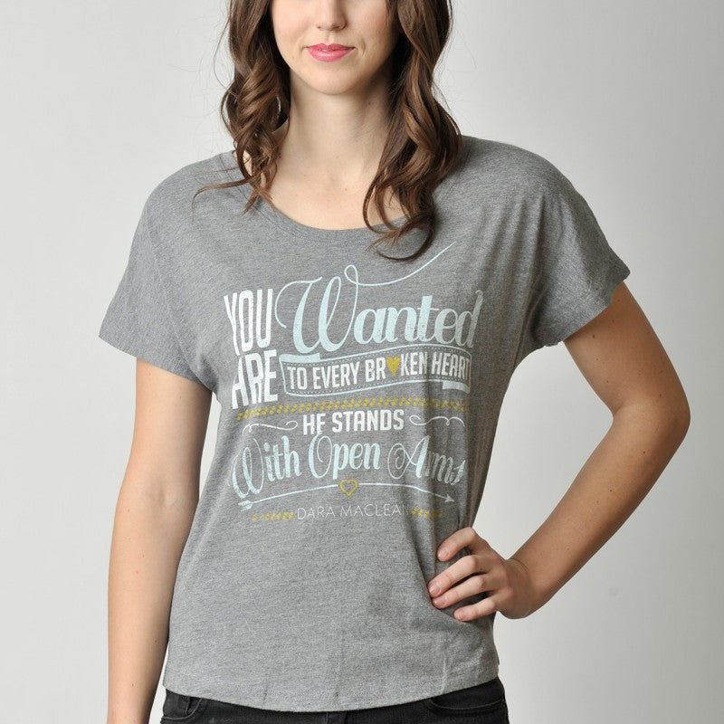 You Are Wanted Slouchy T-Shirt