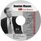 Damian Mason - LIVE from America! (CD)