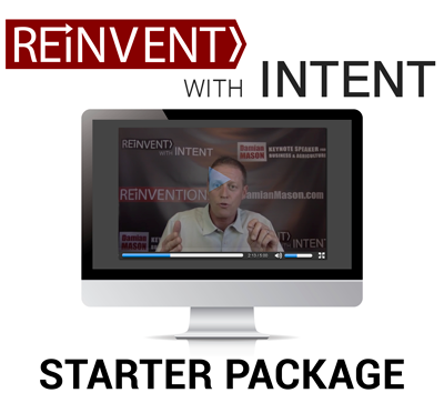 ReInvent With Intent! Video Series (DISCOUNTED Starter Package)