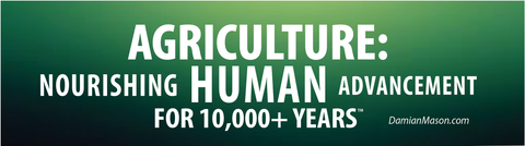 *NEW ITEM* Set of 5 'Nourishing Human Advancement' Ag Bumper Stickers