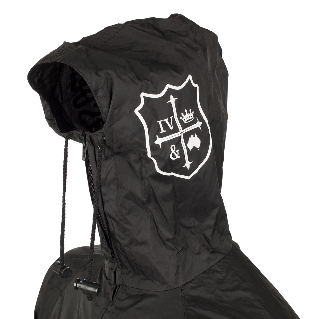 for King & Country Black Windbreaker
